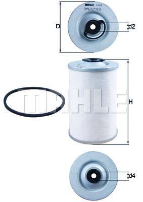 Kraftstofffilter - KX 44D