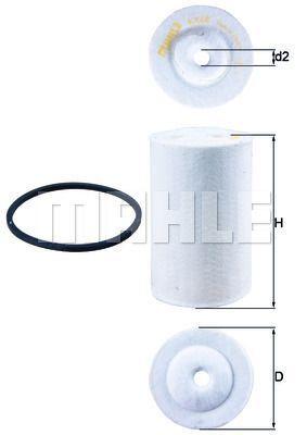 Kraftstofffilter - KX 68D