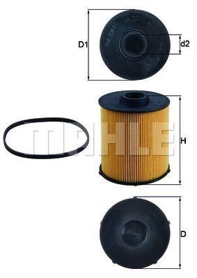 Kraftstofffilter - KX 70D