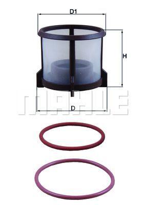 Kraftstofffilter - KX 72D2