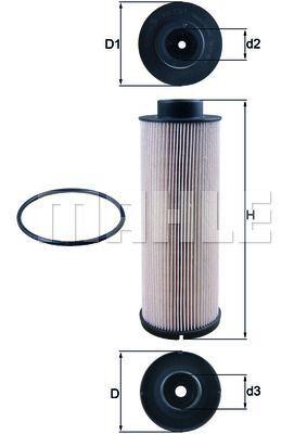 Kraftstofffilter - KX 73/1D