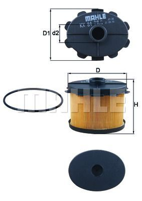 Kraftstofffilter - KX 84D