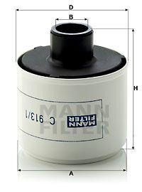 Luftfilter, Kompressor-Ansaugluft