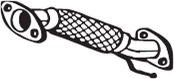 Abgasrohr