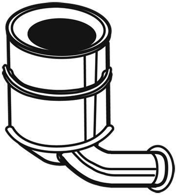 Ruß-/Partikelfilter, Abgasanlage EVO C