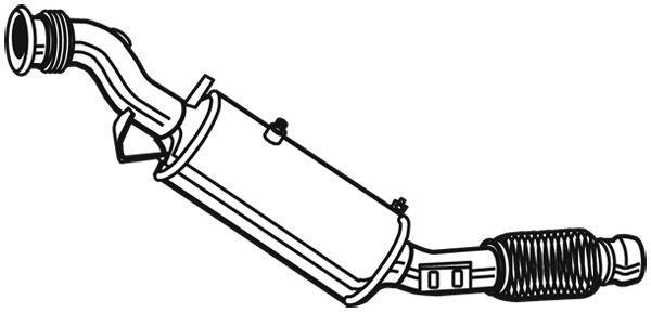 Ruß-/Partikelfilter, Abgasanlage EVO S