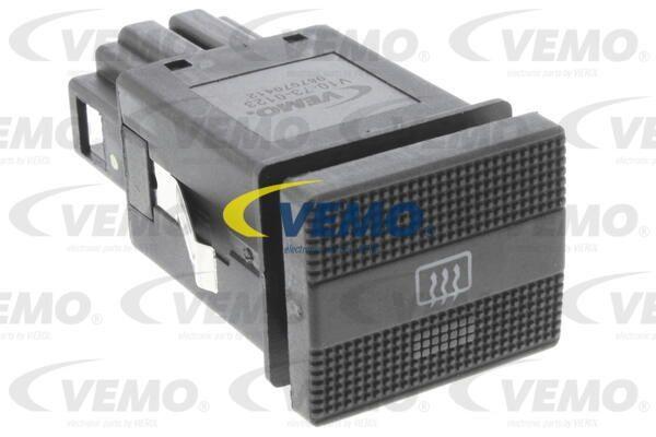 Schalter, Heckscheibenheizung Original VEMO Qualität