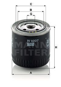 Filter, Arbeitshydraulik