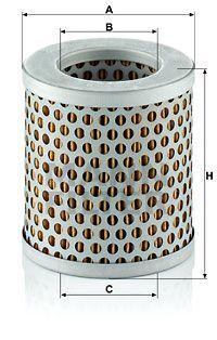 Filter, Kurbelgehäuseentlüftung