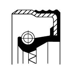 Wellendichtring, Antriebswelle (Ölpumpe) - 12012709B