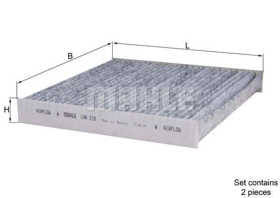 Filter, Innenraumluft - LAK 216