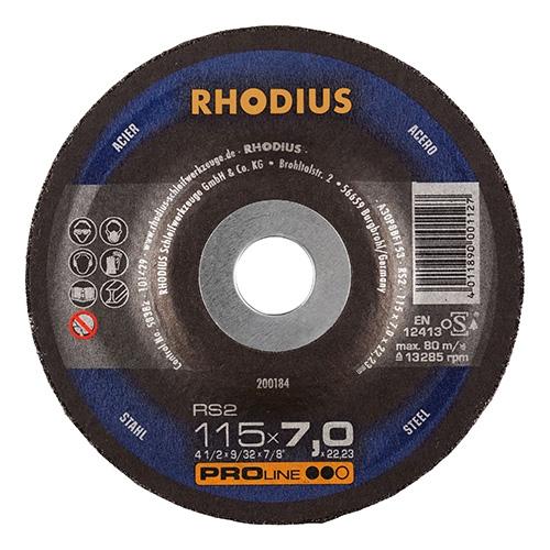Schruppscheibe Stahl RS2 (115 mm)