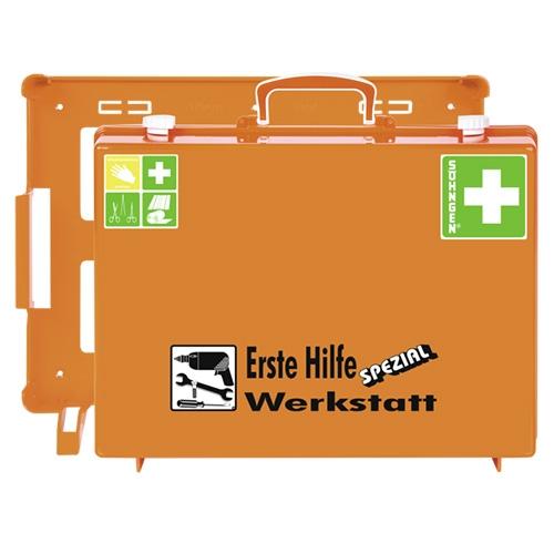 Erste Hilfe Koffer SPEZIAL für die Werkstatt