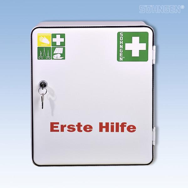 Erste Hilfe Schrank Heidelberg mit Füllung DIN 13157
