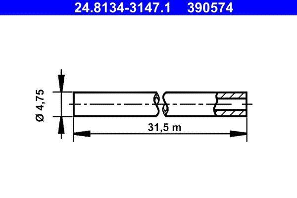 Bremsleitung