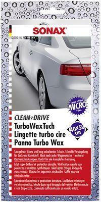 Konservierungswachs CLEAN & DRIVE Turbo WaxTuch 40x50 1er TDisplay