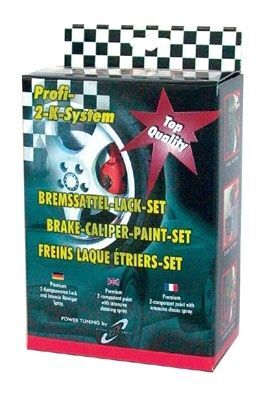 Bremssattellack BREMSSATTEL-SET speedsilber