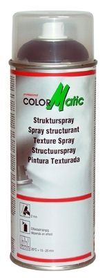 Kunststofflack CM Strukturspray schwarz 400