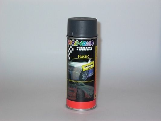 Kunststofflack PLASTIC dark grey mat 400