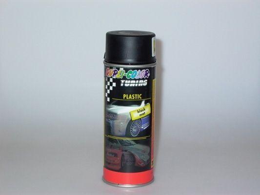 Kunststofflack PLASTIC schwarz matt 400