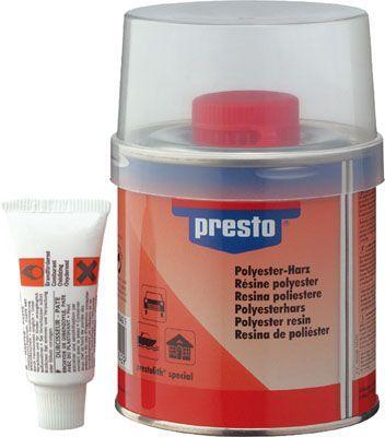 Universalspachtel presto Polyesterharz 1000g + H