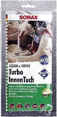 Handreinigungstücher SONAX Clean&Drive TurboInnenTuch 40x50 Thekendisplay