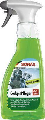 Kunststoffpflegemittel SONAX CockpitPfleger Matteffect Lemon-Fresh