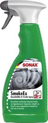 Lufterfrischer SONAX SmokeEx Geruchskiller & Frische-Spray