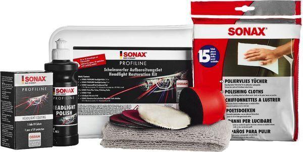 Aufbereitungs-Set, Scheinwerfer SONAX PROFILINE ScheinwerferAufbereitungsSet