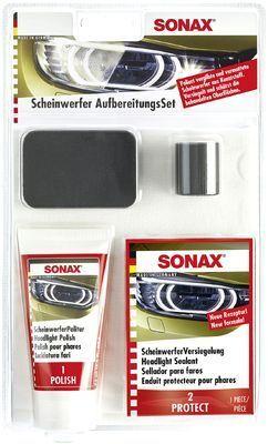Aufbereitungs-Set, Scheinwerfer SONAX Scheinwerfer AufbereitungsSet