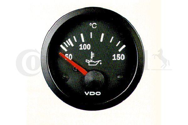 Anzeige, Öltemperatur