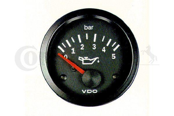 Anzeige, Öldruck