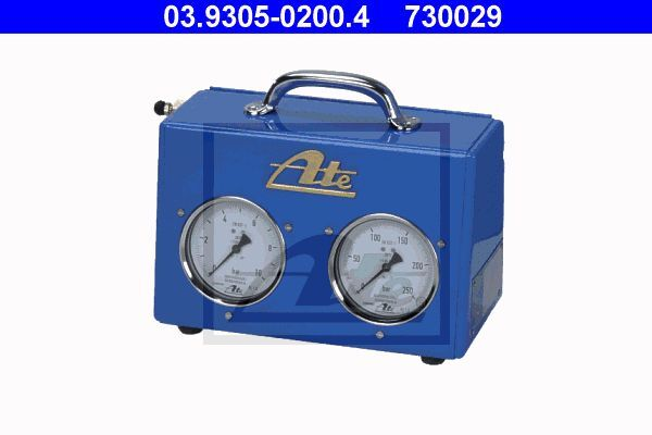 Prüfgerät, Bremsdruck