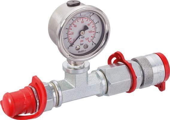 Manometer Hydraulik-Zubehör