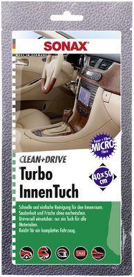 Reinigungstücher Clean&Drive TurboInnenTuch 40x50 Thekendisplay