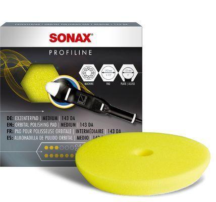 Aufsatz, Poliermaschine Polierschwamm gelb 143 Dual Action -FinishPad-
