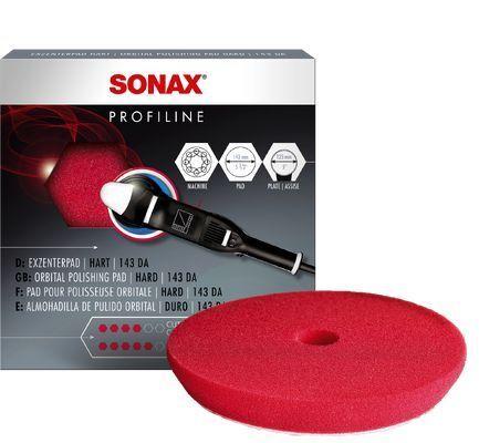 Aufsatz, Poliermaschine Polierschwamm rot 143 Dual Action -CutPad-