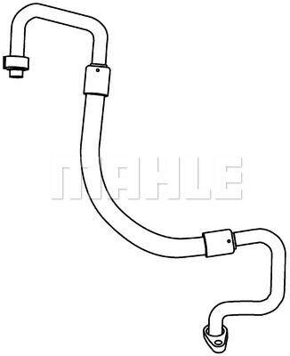 Hochdruck-/Niederdruckleitung, Klimaanlage BEHR *** PREMIUM LINE ***