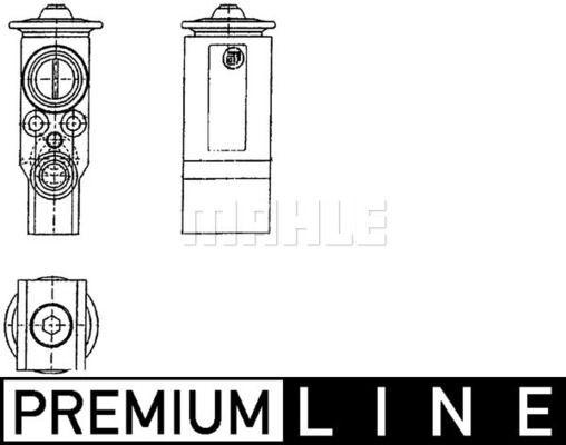 Expansionsventil, Klimaanlage BEHR *** PREMIUM LINE ***