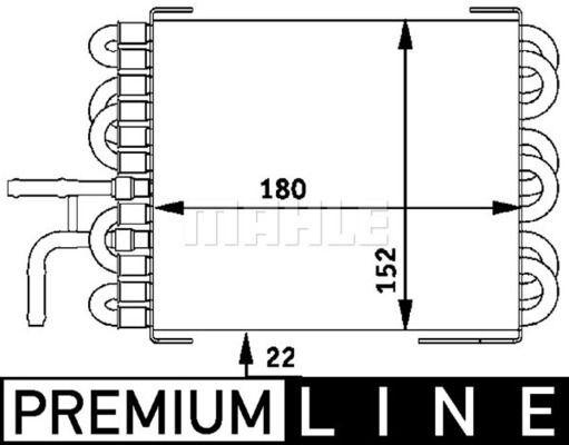 Kraftstoffkühler BEHR *** PREMIUM LINE ***