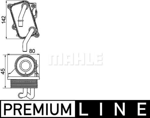 Ölkühler, Motoröl BEHR *** PREMIUM LINE ***