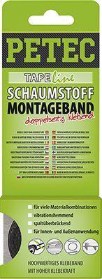 Klebeband SCHAUMSTOFF MONTAGEBAND, SCHWARZ