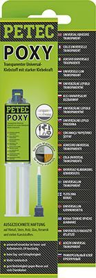 Universalklebstoff POXY transparent