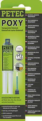 Metall-Klebstoff POXY transparent