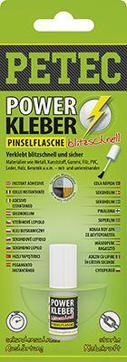 Kunststoff-Klebstoff POWER KLEBER PINSELFLASCHE