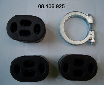 Montagesatz, Schalldämpfer