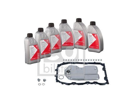 Teilesatz, Ölwechsel-Automatikgetriebe febi Plus
