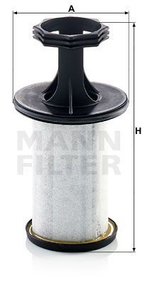 Filter, Kurbelgehäuseentlüftung ProVent