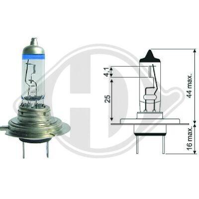Glühlampe, Fernscheinwerfer More Light +120%