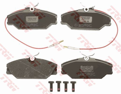 Bremsbelagsatz, Scheibenbremse COTEC - GDB1030
